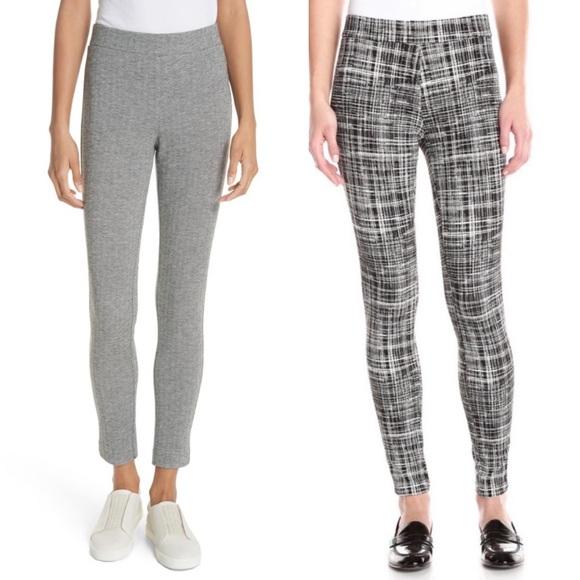 Theory Pants - Theory Adbelle Grid & Chevron Pants